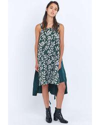 Angel Chen - Decon Green Midi Shirt Dress - Lyst