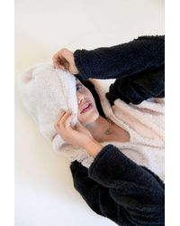 Urban Outfitters Uo Tilly Cozy Faux Fur Hoodie Sweatshirt - Multicolour