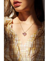 Vanessa Mooney - The Romance Pendant Necklace - Lyst