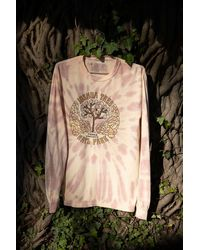 Parks Project Joshua Tree Tie-dye Long Sleeve Tee - Natural