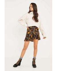 Urban Outfitters - Uo Baroque Ruffle Wrap Skirt - Lyst
