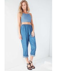 5790a8fe Urban Renewal - Remade Pull-on Denim Pant - Lyst