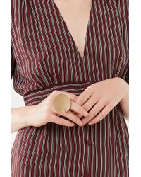 Urban Outfitters - Brushed Circle Statement Ring - Lyst