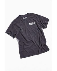 Urban Outfitters Modelo Pigment Dye Tee - Black
