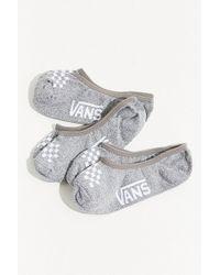 Vans - Vans Heathered No-show Liner Sock 3-pack - Lyst