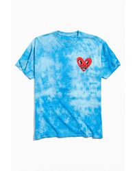 Urban Outfitters Keith Haring Heart Tee - Blue