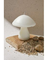 Urban Outfitters Emone White Shroom Candle - Multicolour