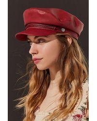Brixton - + Uo Fiddler Faux Leather Fisherman Hat - Lyst