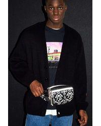 iets frans... Black Tapestry Bum Bag
