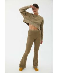Out From Under Felicity Thermal Flare Pant - Green