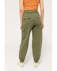 Urban Outfitters Uo Jackson Utility Jogger Pant - Green