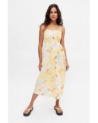 Billabong Breeze Midi Dress - Yellow