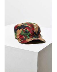 Urban Renewal Vintage Camo Cadet Hat - Brown