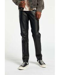 Tripp Nyc Faux Leather Pant - Black