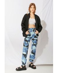 Urban Outfitters - Vintage Colorful Camo Pant - Lyst