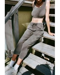Electric and Rose Astor Lounge Pant - Black