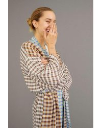 Urban Outfitters Stella Printed Robe - Multicolor