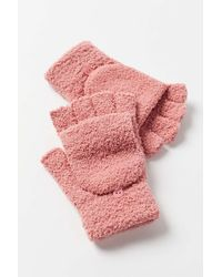 Urban Outfitters Cozy Convertible Glove - Pink
