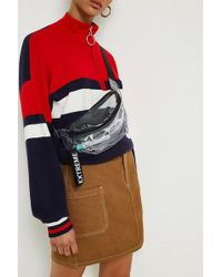 Urban Outfitters - Uo Clear Plastic Extreme Bum Bag - Lyst