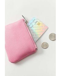 Urban Outfitters Uo Zoe Coin Pouch - Pink