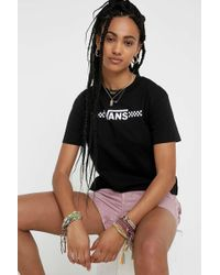 Vans - Funnier Times Black T-shirt - Womens M - Lyst