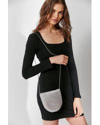 Urban Outfitters - Chainmail Silver Crossbody - Lyst