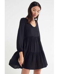 de730948e6a4 Lyst - Urban Outfitters Uo Mindy Frock Dress in Black