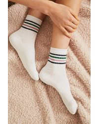Out From Under - Sparkle Stripe Tube Sock - Lyst