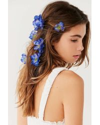 Rock N Rose - Franny Flower Hair Pins - Lyst