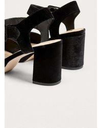 e750e871d27 Lyst - Urban Outfitters Laura Jacquard Cross Strap Mule in Black