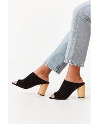 Urban Outfitters - Poppy Suede Mule Heel - Lyst