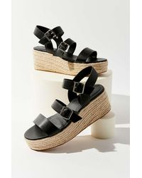 Urban Outfitters Uo Shayleigh Espadrille Wedge - Multicolor