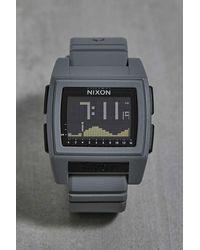 Nixon Base Tide Pro Watch - Grey