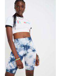 51bad8555a Ellesse Carezza '90s Crop T-shirt - Womens Uk 6 in White - Lyst