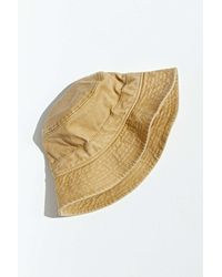 Urban Outfitters Uo Washed Bucket Hat - Multicolour