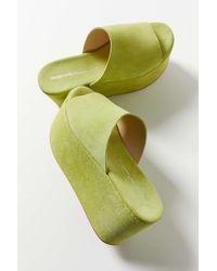 INTENTIONALLY ______ Camp Flatform Sandal - Green