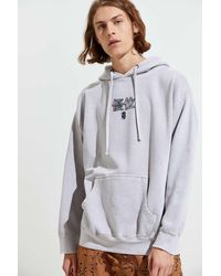 Urban Outfitters 3d Dragon Overdyed Hoodie Sweatshirt - Multicolor