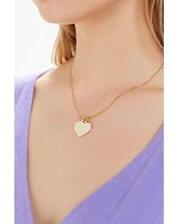 Five And Two - Racquel Heart Necklace - Lyst