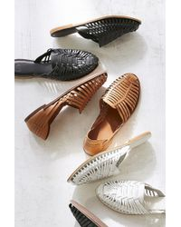 Urban Outfitters - Uo Woven Huarache Flat - Lyst