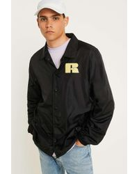 Russell Athletic Black Coach Jacket