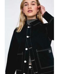 002d41f75 Black Utility Jacket - Womens L