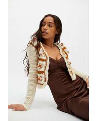 Tach Clothing Telma Wool Cardigan - White