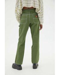 Dickies Straight Leg Carpenter Pant - Green