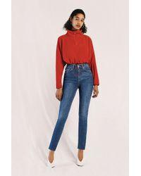 BDG - Pine Skinny Dark Vintage Wash Jeans - Lyst