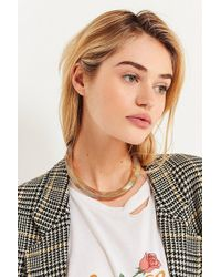 Urban Outfitters | Accordion Statement Necklace | Lyst