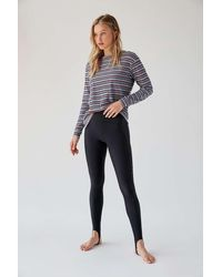 Out From Under Stacie High-waisted Stirrup Leggings - Multicolour