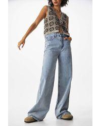 BDG Blue Summer Vintage Puddle Jeans