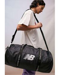 New Balance Black Opp Core Medium Duffle Bag