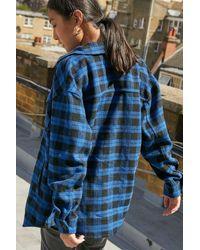Tommy Hilfiger Plaid Flannel Shirt - Blue