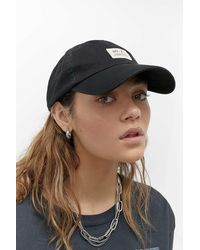 Urban Outfitters Uo Canvas Cap - Black
